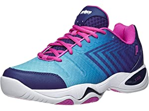 Prince T22 Lite Ocean/White/Pink Womens Shoes