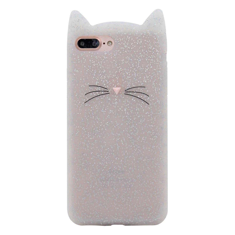 870f31f818 Emily Fashion Cute 3D Cartoon Blue Alien Dog Silicone Case Cover for iPhone  X 8 Plus 6S 6 Plus 6SE 5S 5 SE 5C/Samsung Galaxy S8 Plus S7 S6 Edge Note 8  ...