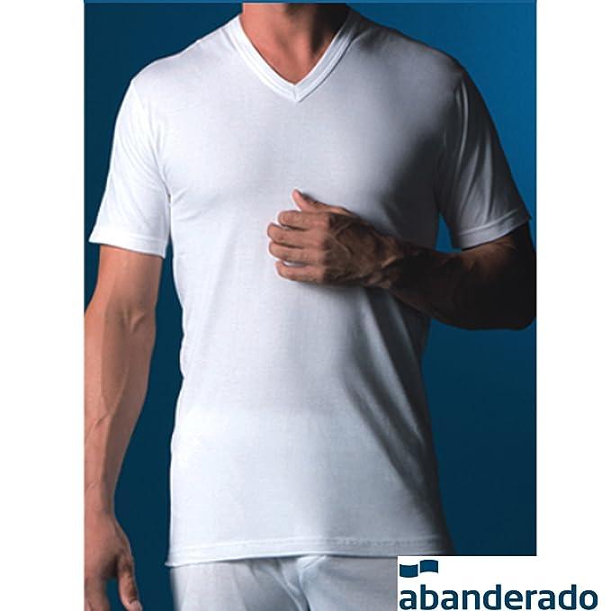 Abanderado - Camiseta Manga Corta 508 Hombre Color: BL Talla: 48