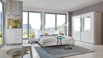 Schlafzimmer Mit Schwebetürenschrank Komplett | Schlafzimmer Schlafzimmermobel Set Komplett Komplettset