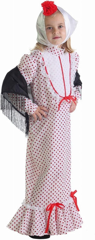 LLOPIS - Disfraz Infantil chulapa Coral t-s: Amazon.es: Juguetes y ...