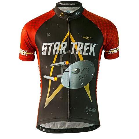 264ced139 Beam up a Star Trek cycling jersey - Novelty Cycling Gear