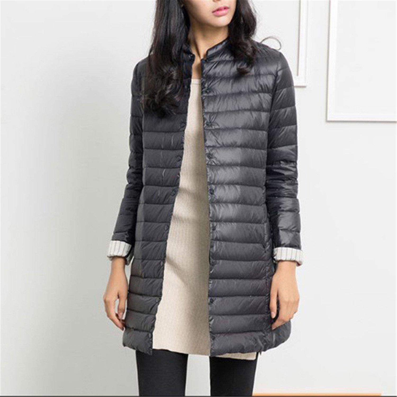 Dapengzhu 1PC Thin Down Jacket Winter Coat Women Winter Coat Women Long Coats Outerwear Parka Zang Qing XS at Amazon Womens Coats Shop