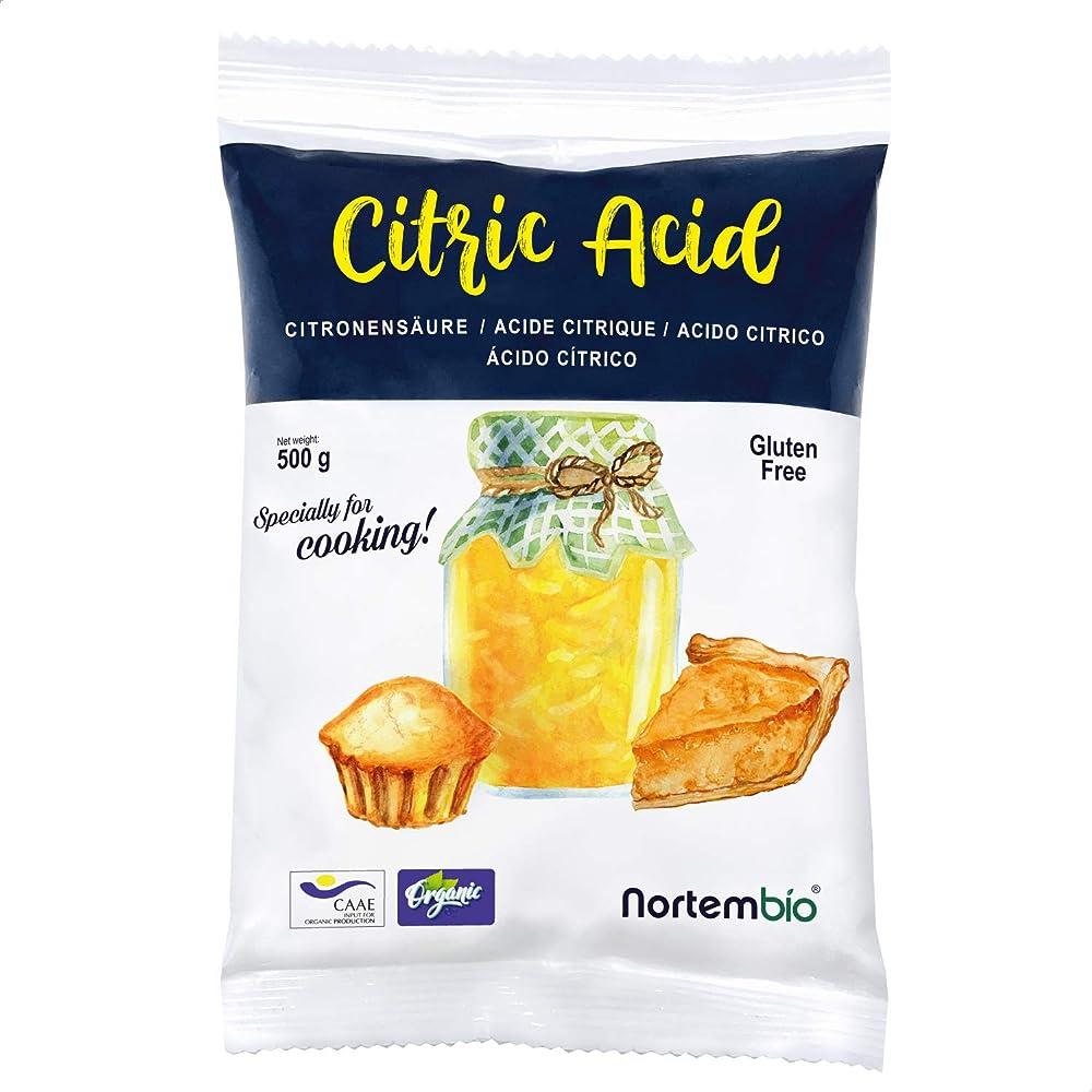 Nortembio acido citrico 500g. input biologico polvere, 100% puro. sviluppato