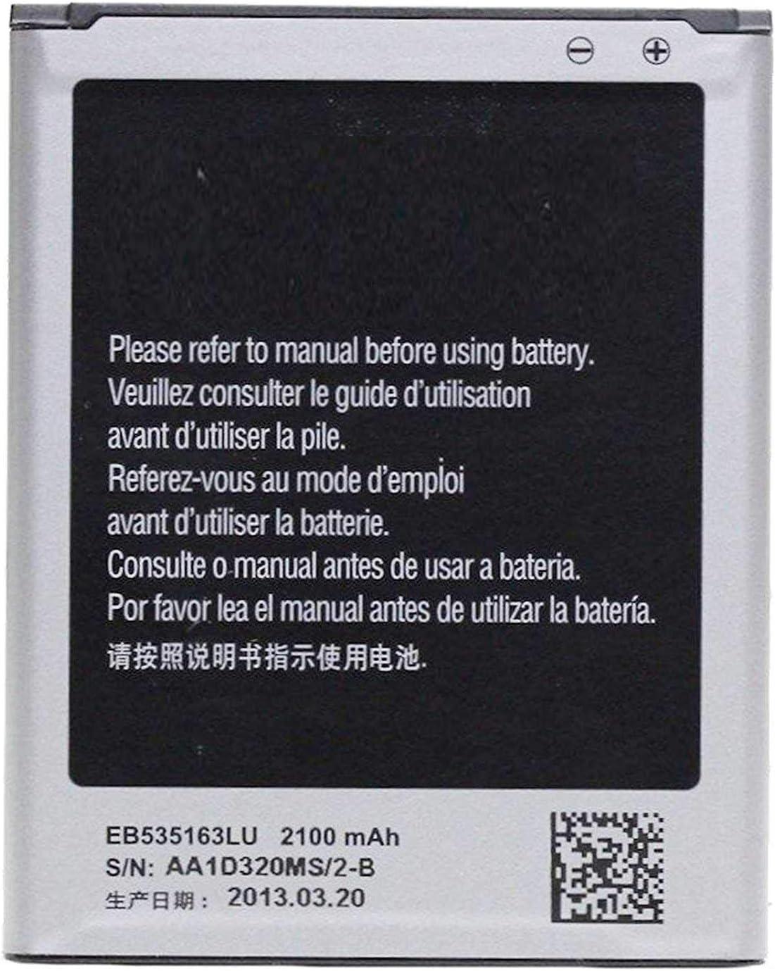 Todobarato24h Bateria Compatible con Samsung Galaxy Grand Neo Neo Plus i9060 i9080 i9082 EB535163LUCSTD 2100 Mha