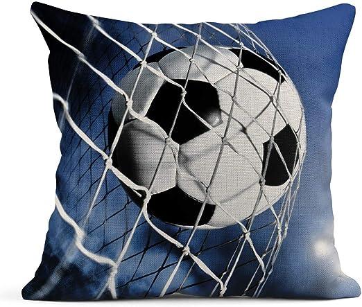 Kinhevao Cojín Balón de fútbol Power Goals Lino Almohada ...