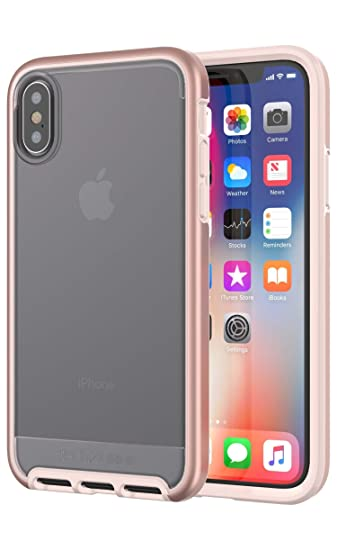 size 40 fad0d d0590 Tech21 Evo Elite Case for iPhone X - Rose Gold