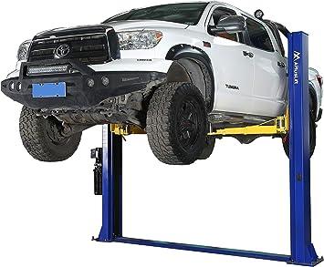 APlusLift HW-10KBP-A 10,000LB Two Post Floor Plate Auto Hoist Car Lift with Combo (Symmetric and Asymmetric) Arms / 24 Months Parts Warranty