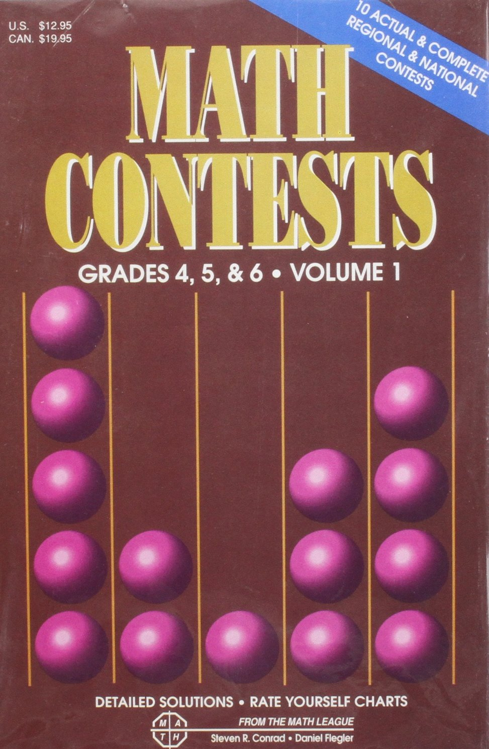 Download Math Contests-Grades 4, 5 & 6: School Years: 1979-80 through 1985-86 (Volume 1) pdf