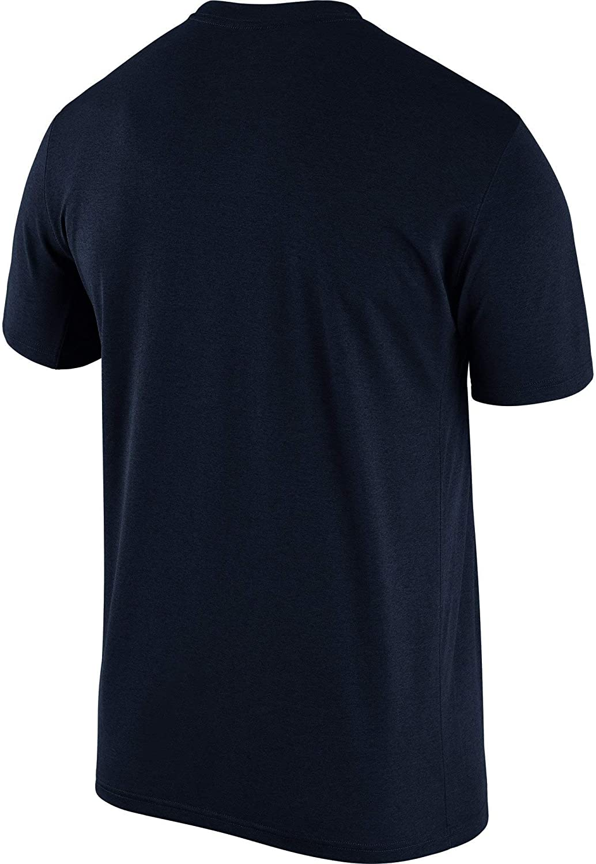 Nike Mens New England Patriots Legend Performance Logo Essential 3 T-Shirt Navy