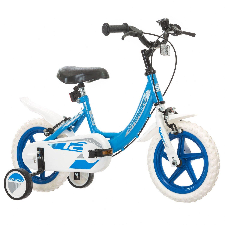 Promoción por tiempo limitado Interbike ALICE Bicicleta para niños, Tamaño de rueda: 12 ruedas Shimano 6 cambios Azul