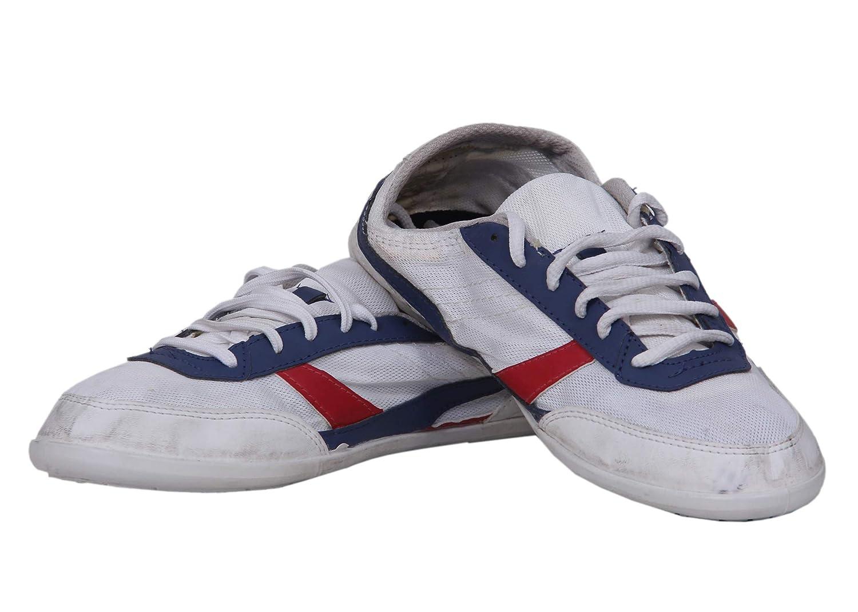 Buy Newfeel White Walking Sneakers at