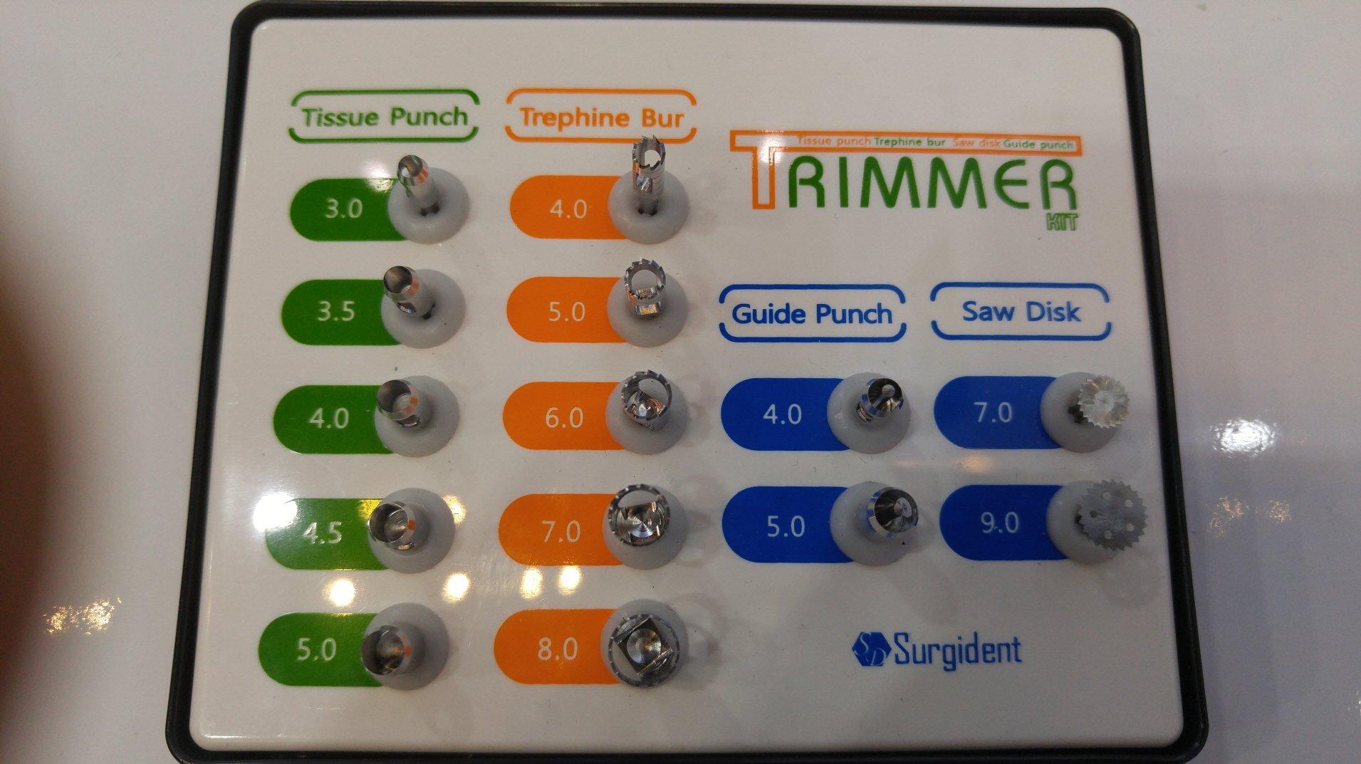 TRIMMER KIT(Safe Drilling & Trimming)