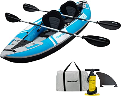 Amazon.com: Driftsun Voyager - Kayak inflable para 2  ...