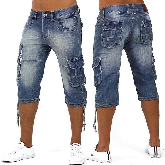 372926b9fc56 Herren Shorts Favela Nr2 ID1013, Größe Shorts W42,blau,W42  Amazon.de   Bekleidung