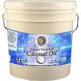 Earth Circle Organics Organic Coconut Oil, Unrefined, Sri Lanka, 1 gallon