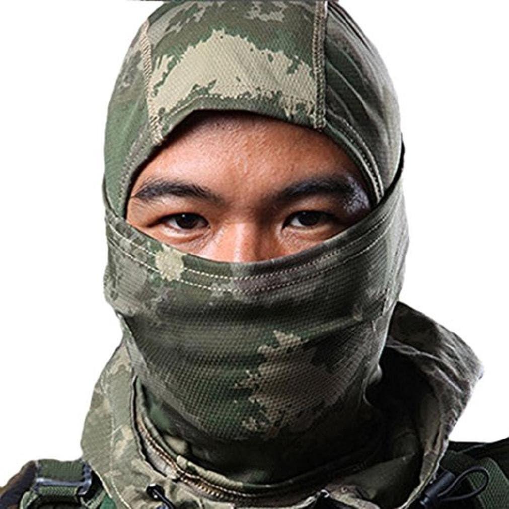 Protection int/égrale pour des activit/és de plein air Cagoule de camouflage de ski