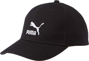 PUMA Archive Logo BB Cap Gorra, Unisex Adulto, Negro, Talla Única