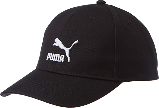 PUMA Archive Logo BB Cap Gorra, Unisex Adulto, Negro, Talla Única ...