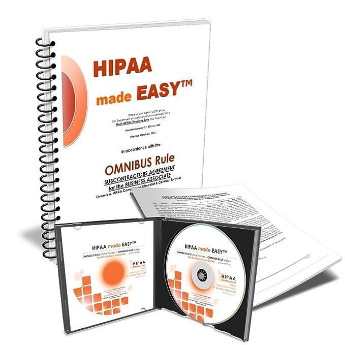 Amazon 2019 Hipaa Made Easy Omnibus Rule Subcontractors