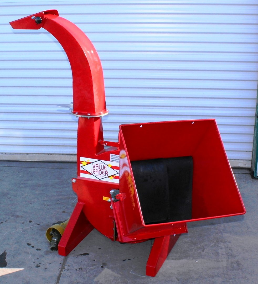 Value-Leader 3pt Wood Chipper 5'' Dia. Cat.I 3pt 16HP+ Rated (VL-WCX5) Requires a Tractor. Not a standalone Unit. by Value-Leader