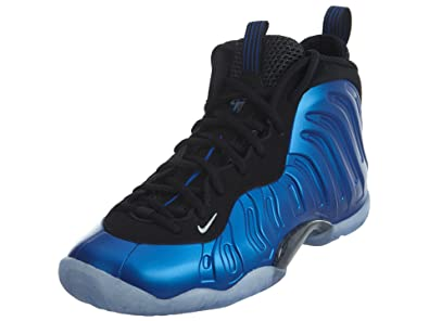 huge discount cb438 0ffff Nike Little Posite One XX Boys Shoe Dark Neon Royal Black White 898061-