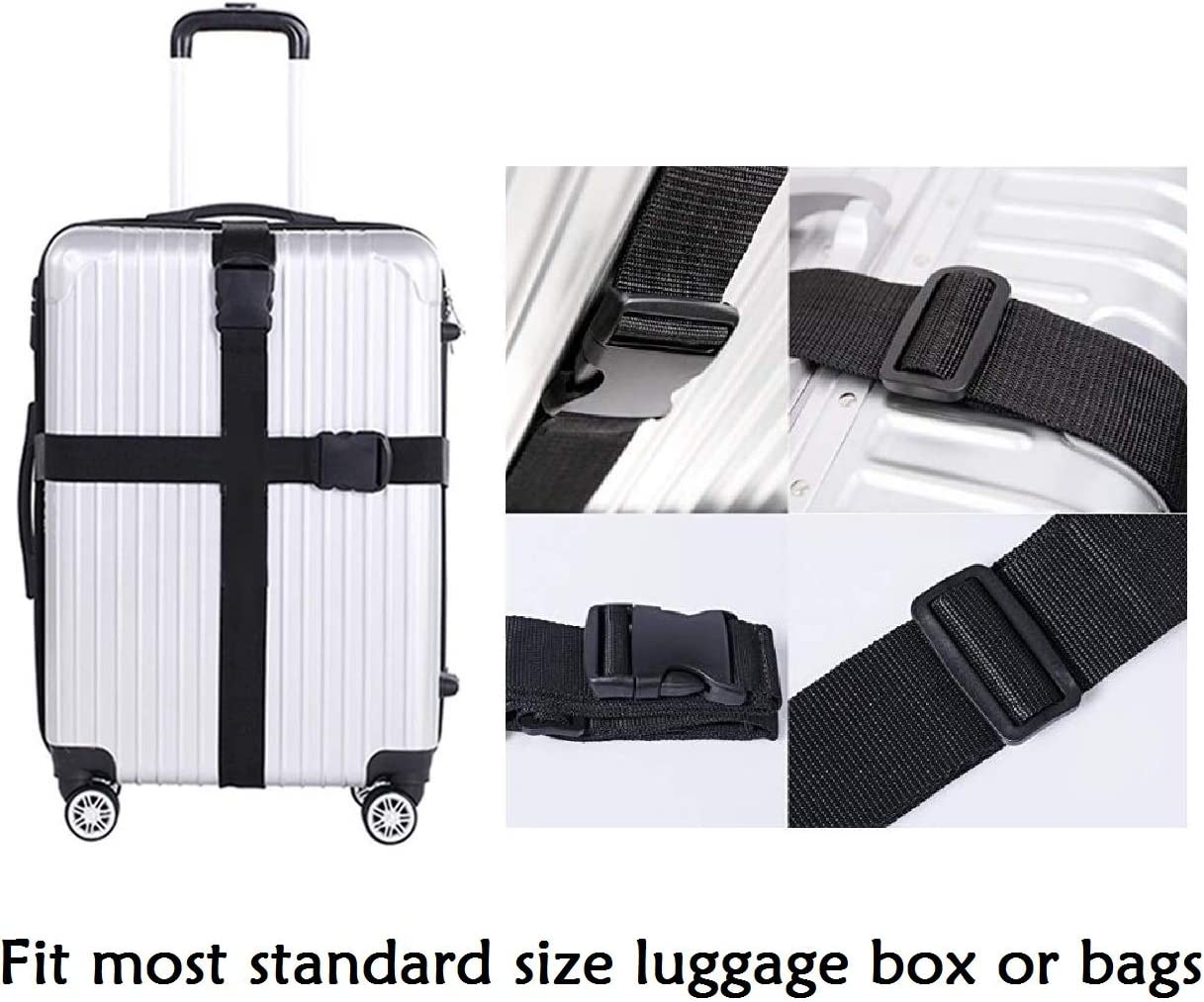 Multifunctional Outdoor Trolley Case Suitcase Bag Bundle Webbing Strap 150cm