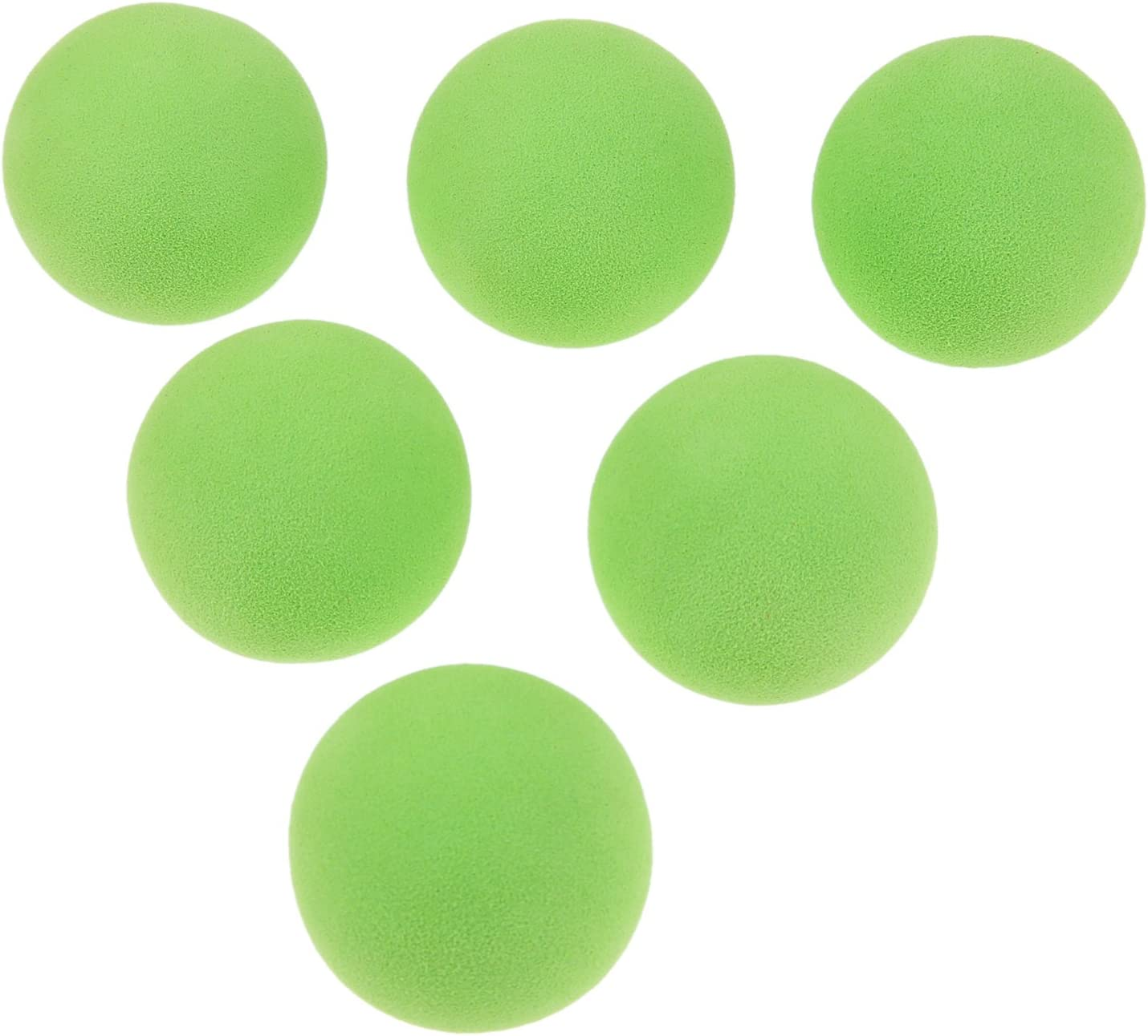 MUXSAM 20pcs Soft Foam Golf Balls – Golf Swing Training Aids for Kids or Adults, Indoor Putting Green, Backyard Outdoor Practice Equipment, 7 Colors for Choice