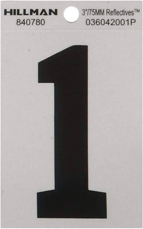 11 Characters 3 inch 75mm high pre-spaced stick on vinyl letters /& numbers