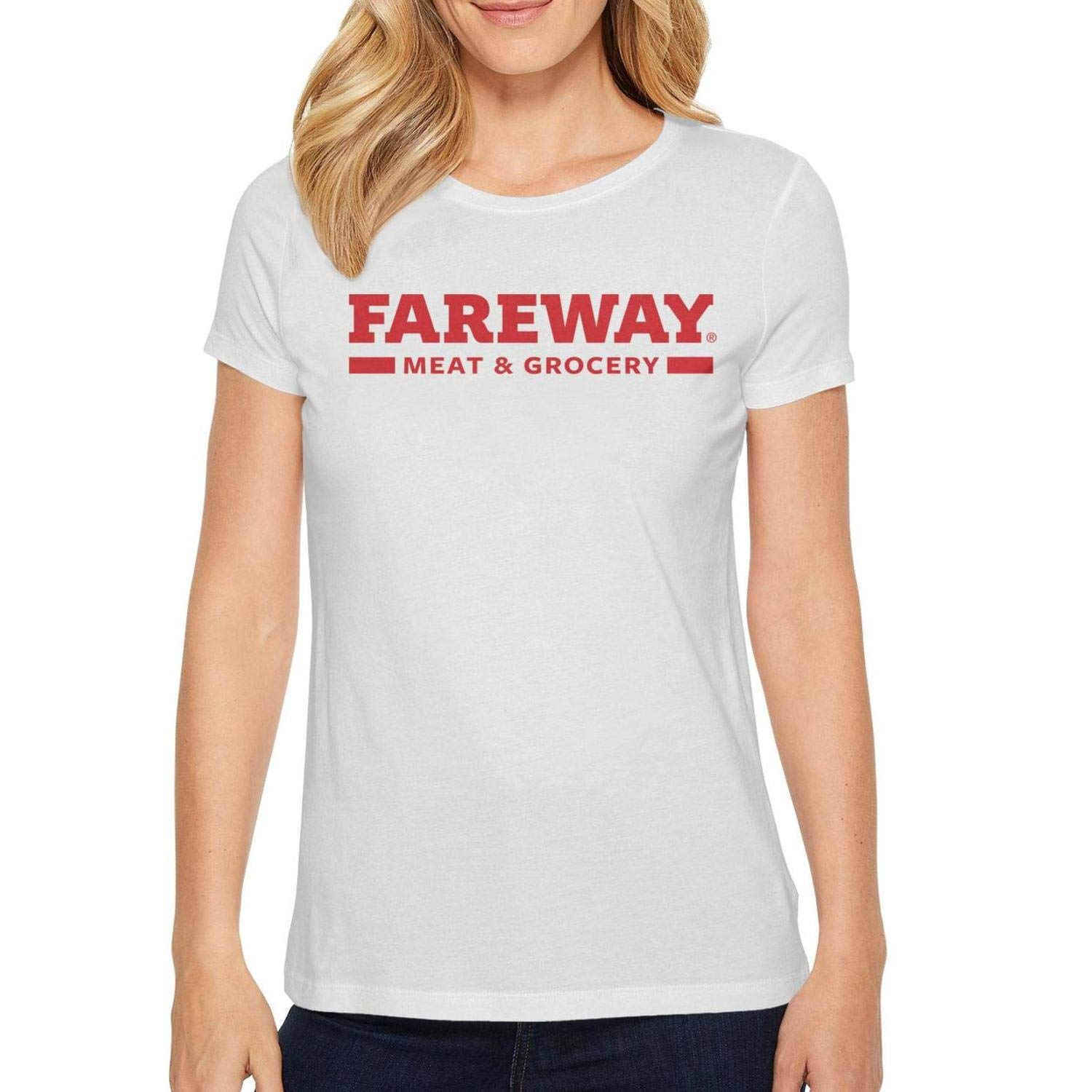 Fareway Launches New Logos Womens Short Sleeve T Shirts Cotton Custom Comfortable Shirt by XECVTYNJ