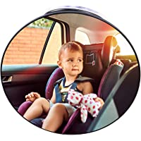 Baby Car Mirror Suction Cup, Forward Facing Baby Mirror Rear View for Infant Children, Baby Mirror Car Seat Back Seat…