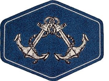 Teppich Maritim amazon de teppich läufer bootsteppich fußmatte fussmatte