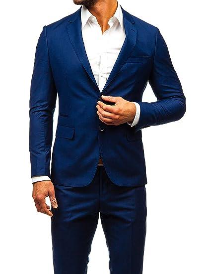 BOLF Herren 2 und 3 Teilig Anzug Sakko Anzughose Elegant