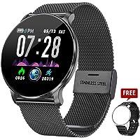 TagoBee TB11 IP68 a Prueba de Agua Smart Watch HD Touch Screen Fitness Tracker Soporte de presión Arterial frecuencia cardíaca Sleep Monitoring Contador de Pasos Compatible con Android y iOS