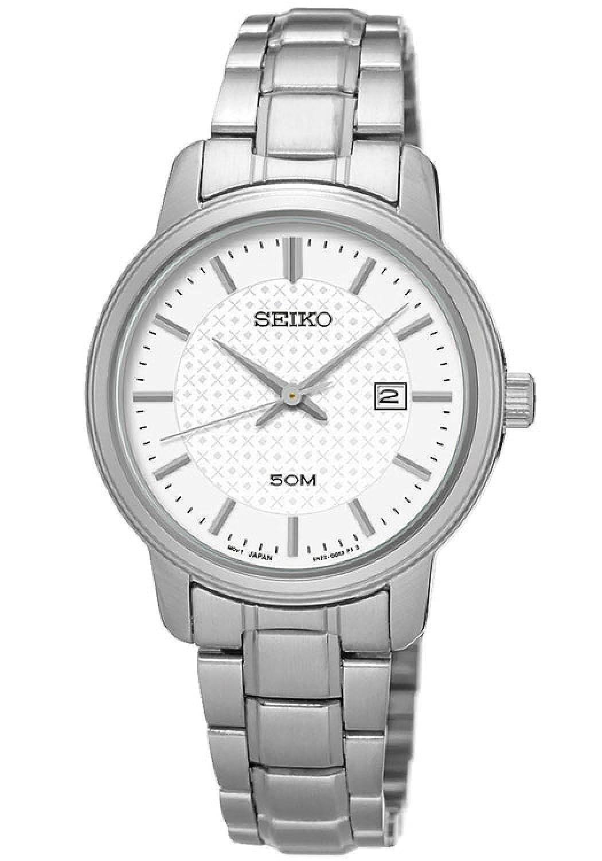 セイコー SEIKO クオーツ レディース 腕時計 SUR751P1 ホワイト [並行輸入品] B01DK29BOA