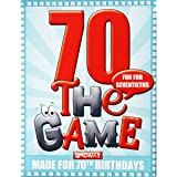 Happy 70th Birthday Card Game - Go For It Games
