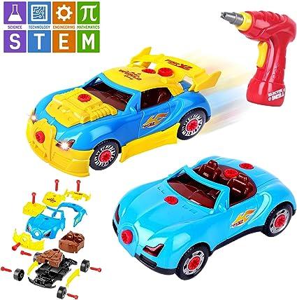 Racing Cars Set Race Car Lot Toy Box for Boys Children Christmas Gift 6 Pcs