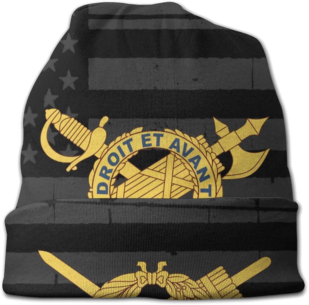 JINGUImao US Army Inspector General 1 Unisex Warm Hat Knit Hat Skull Cap Beanies Cap