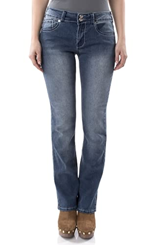Angels Jeans Missy Embroidered Bootcut Jeans