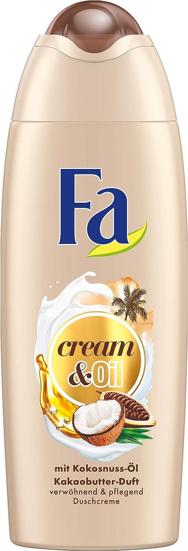 FA Gel Doccia Cream & Oil, confezione da (6X 250ML) FGD22