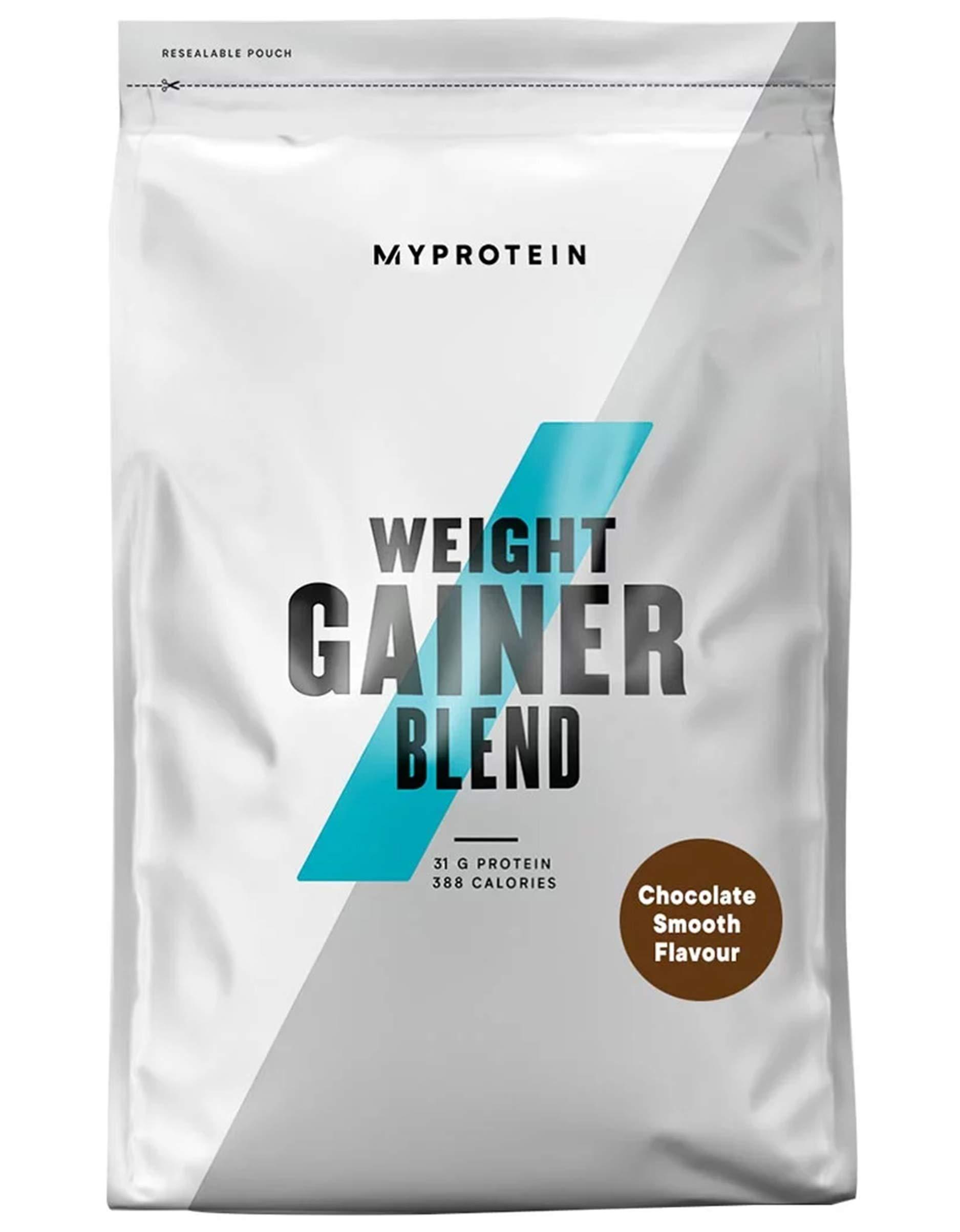 Weight Gainer Powder, Chocolate Smooth, 2500g