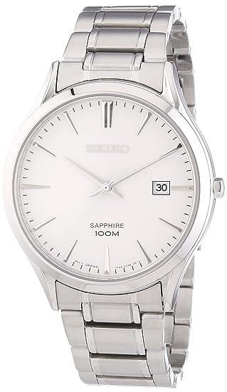 Seiko Reloj de Cuarzo para Hombre con Correa de Acero Inoxidable – SGEG93P1