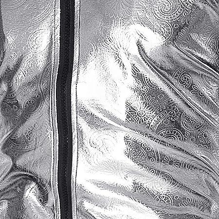 OverDose hombre Prendas De Vestir Exteriores Nueva Primavera Slim Fit Manga Larga Cara Brillante Impreso Chaqueta del Partido Chaquetas De Bombardero Outwear Adolescente Top Blusa