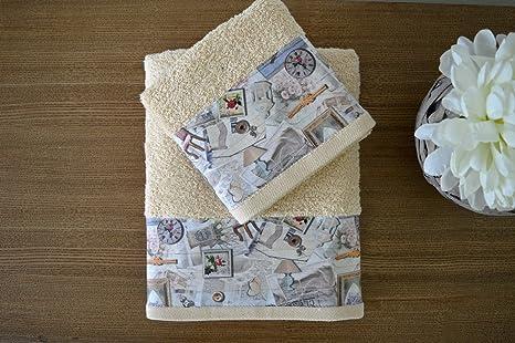 Lino de baño (2 toallas) Lucy