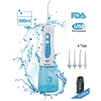 Freshjoy 300ml Portable Water Flosser (Blue)