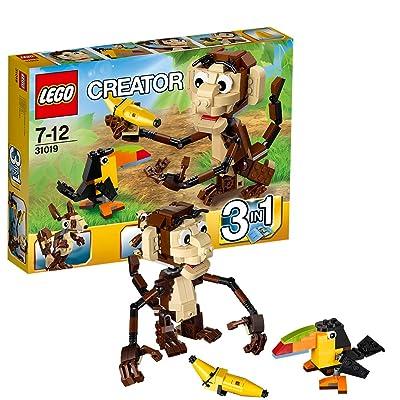 LEGO Creator Monkey & Bird 31019: Toys & Games