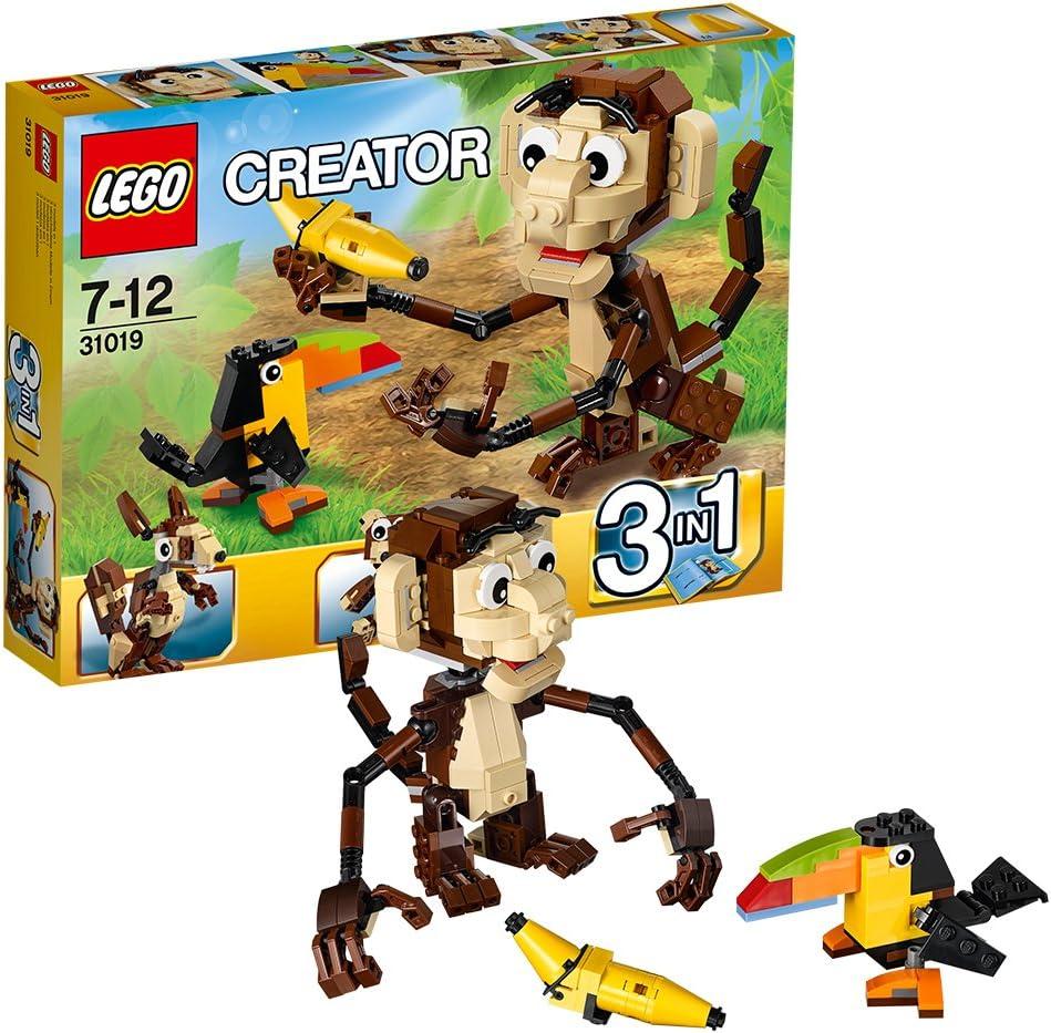 LEGO Creator 3 in 1-31019 Urwald Tiere NEU OVP Preisschilder auf Vorderseite