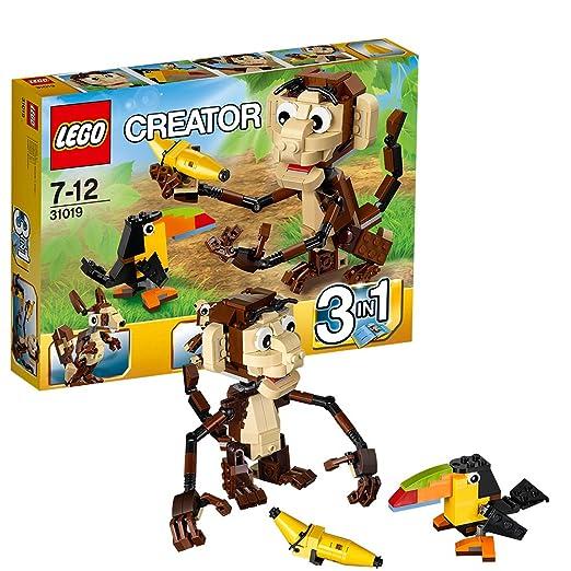 15 opinioni per LEGO Creator 31019- Animali della Giungla