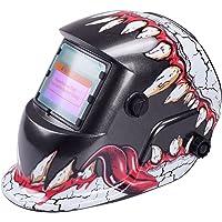 Tiptiper Oscurecimiento del casco de soldadura, oscurecimiento automático de la máscara del casco de soldadura…