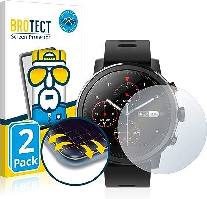 BROTECT Protector Pantalla Completa Compatible con Huami Amazfit ...